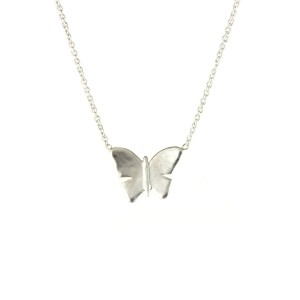 MC Butterfly Necklace Sterling Silver