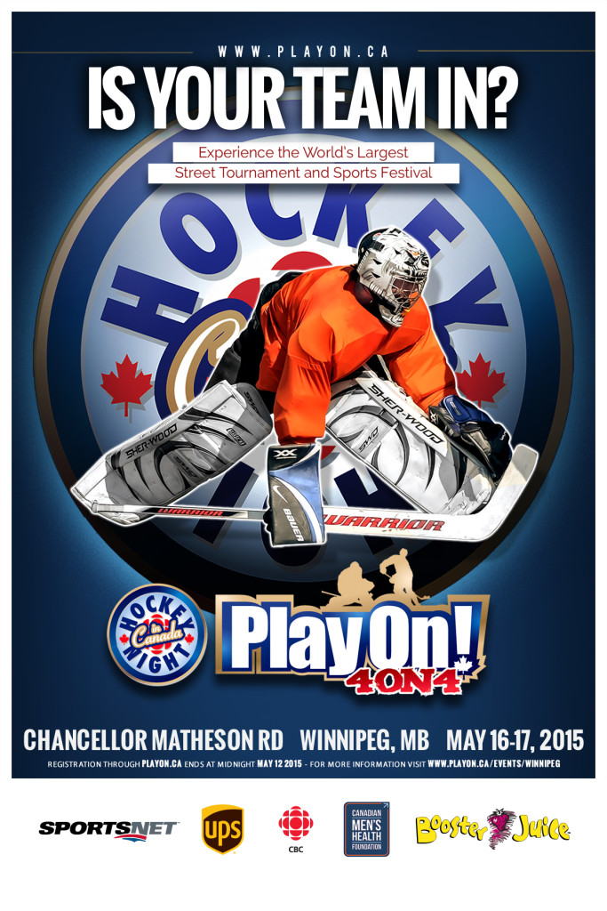Poster Play On Winnipeg-12x18