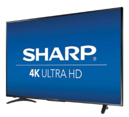 55 inch 4K LED Sharp TV