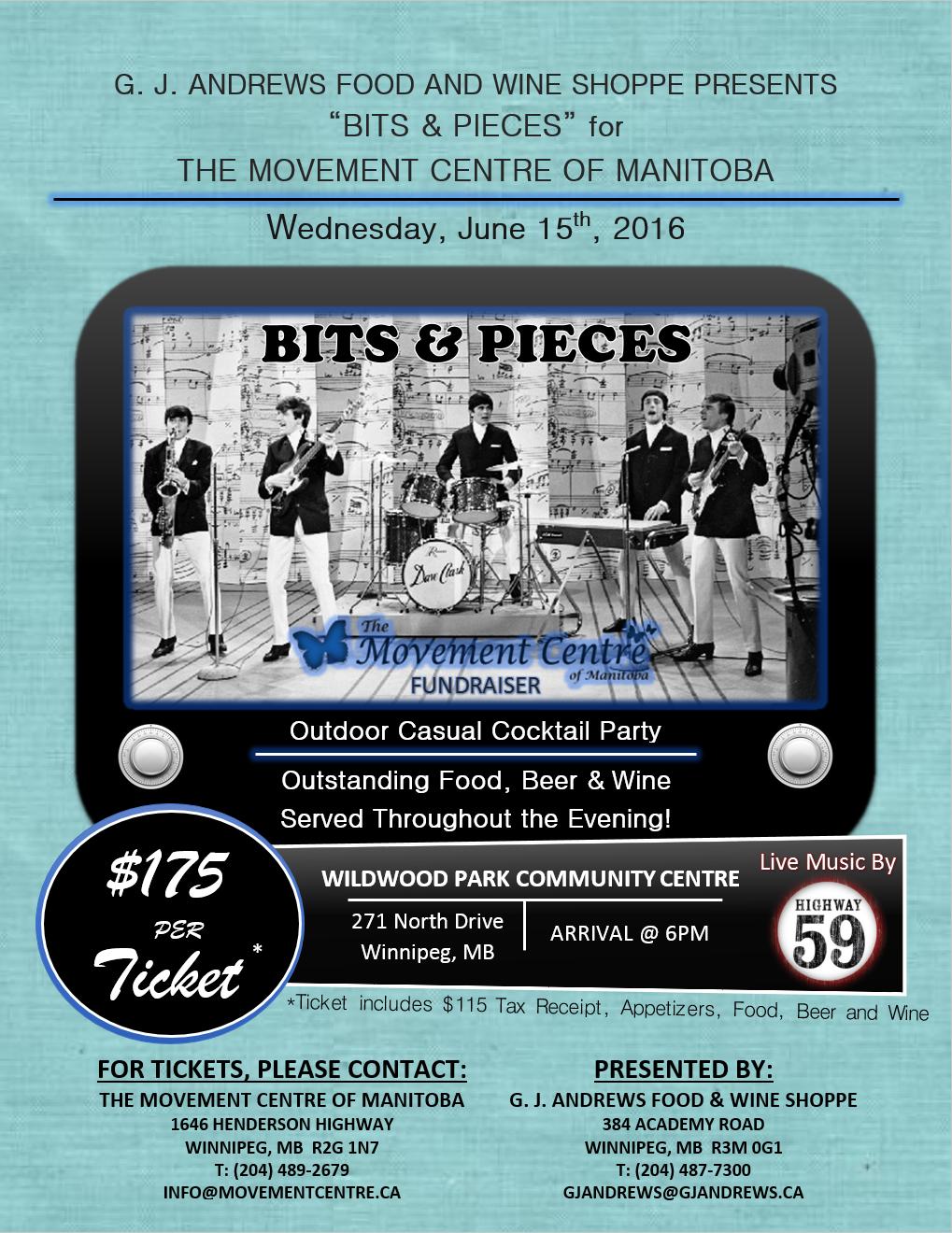 Bits & Pieces Poster 2016