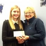 Hannah Guttormson Brings Gift