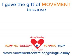 I gave movement because
