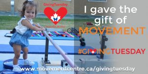 I gave the gift of movement - Brynn