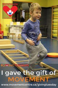 I gave the gift of movement - Wyatt