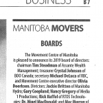 Manitoba Movers 2019