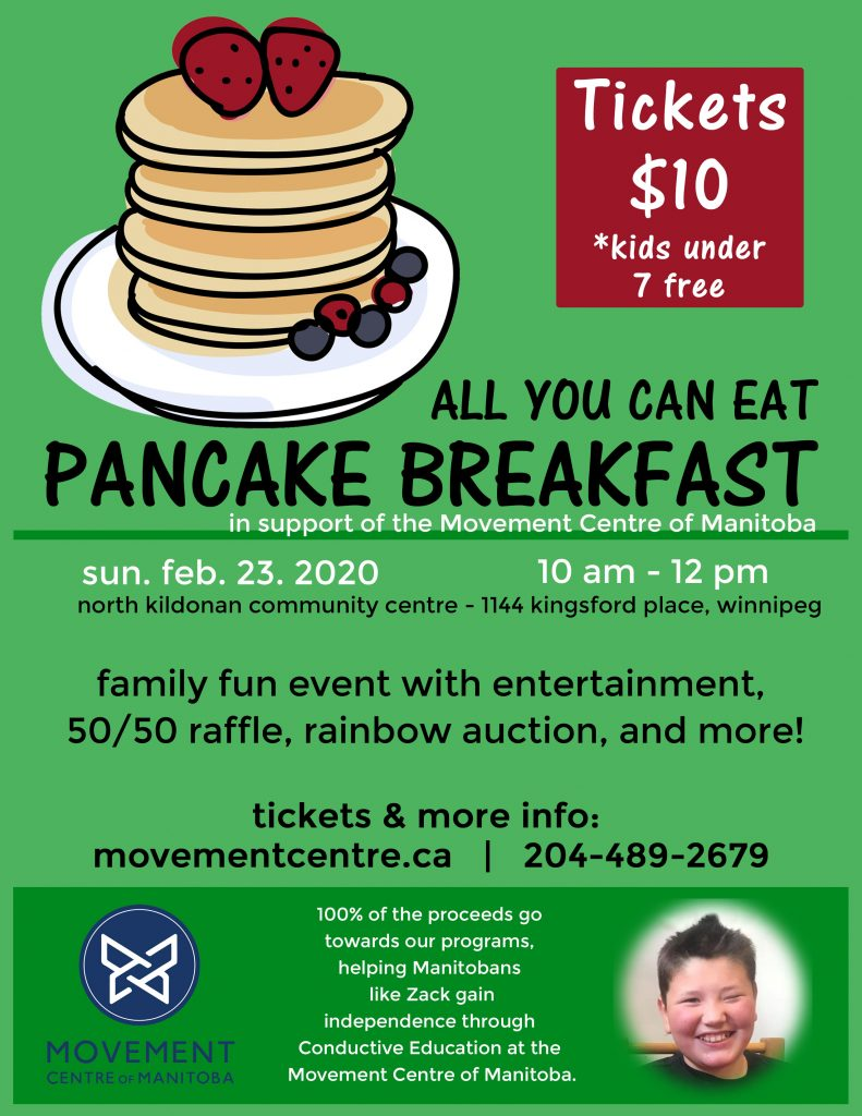 Pancake Breakfast 2020 Poster - low