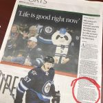 Surprise Mention from Tyler Myers